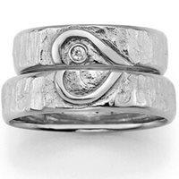 zilveren trouwringen