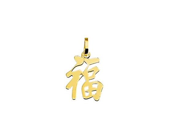 Gouden chinees teken geluk hanger 40.08489