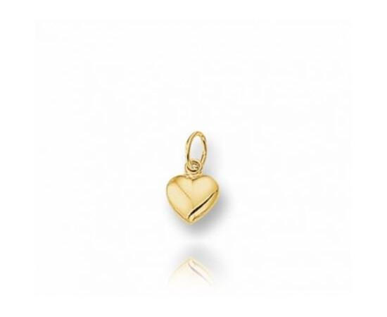 Gouden Hanger hart 6.5mm - H722