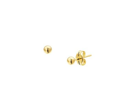 Gouden Oorknoppen bol  - 4008748