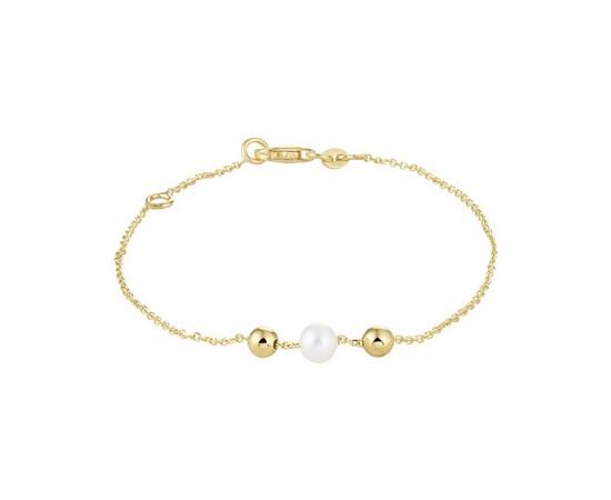 Gouden dames armband Parel 4020764