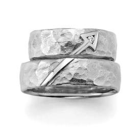 zilveren trouwringen cupido